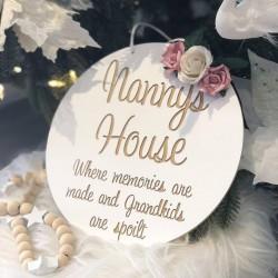"""""""NANNY"""" - plaque"""