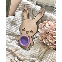 Mini bunny dough holder