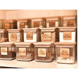 """""""PANTRY"""" wooden labels..."""