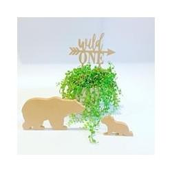 """Wild one "" - cake topper raw"