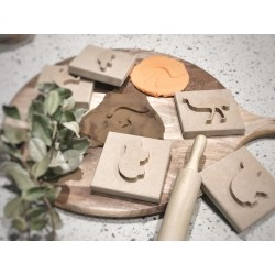 """""""AUSSIE"""" PLAY DOUGH STAMPS"""