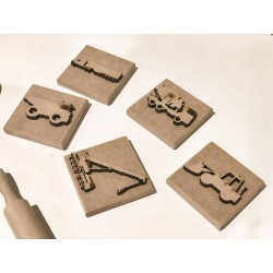 TRUCKS PLAY DOUGH STAMPS -...