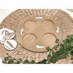 """""""LIFE CYCLE"""" TRAY (ON ITS OWN)"""