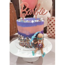 """BARBIE"" CAKE TOPPER"