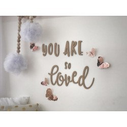 """you are so loved"" WALL SCRIPT"
