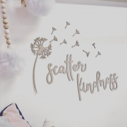 """SCATTER KINDNESS"" wall set"