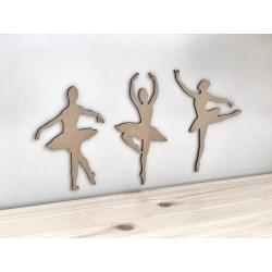 """RAW"" 3 SET BALLET DANCERS"