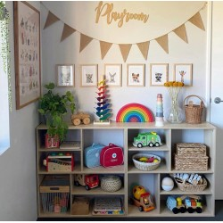 """Play room"" wall sign"