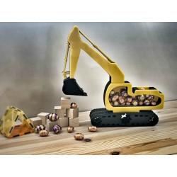Excavator money box/ egg drop