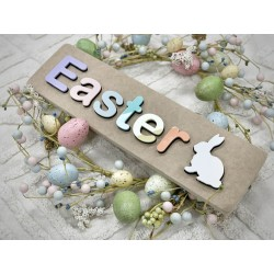 Easter puzzle - with bunny