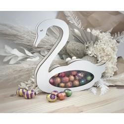 Swan money box / egg drop