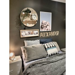 """""""Alexander"""" style wall letters"""