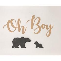 """Oh"" baby - boy - girl wall..."