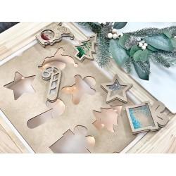 """""""Christmas"""" sensory shakers"""