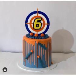 NERF CAKE TOPPER