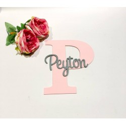 CUSTOM -wall letter with name